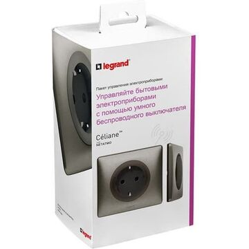 Пакет для управления бытовыми электроприборами Celiane Netatmo (титан) 067642
