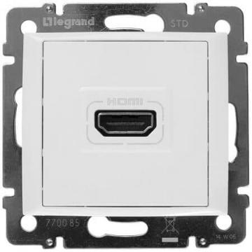 Розетка HDMI Valena (белая) 770085