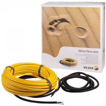 Отопительный кабель двужильный Veria Flexicable 2534Вт 125м (от 12,5 до 25м²) 189B2020