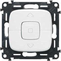 Кнопка-выключатель для рольставней Valena Allure (белый)