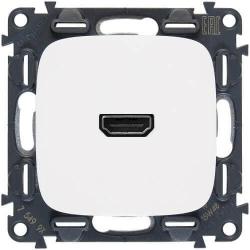 Розетка HDMI Valena Allure (белая)