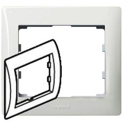 Рамка Galea life одноместная (белая) 771001