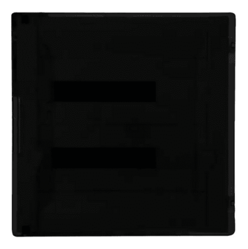 Бокс в нишу Legrand Practibox³ на 36 (2х18) мод. прозрачная дверь (с шинами N+PE)