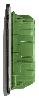 Бокс в нишу Legrand Practibox³ на 18 мод. прозрачная дверь (с шиной PE) 401706