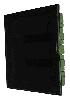 Бокс в нишу Legrand Practibox³ на 36 (2х18) мод. прозрачная дверь (с шинами N+PE) 401757
