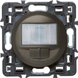 Датчик движения двухпроводной Celiane 250Вт без нейтрали с функцией ручного управления (графит) 067026+067926+080251