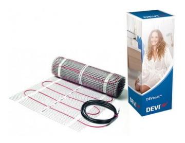 Электрический двужильный теплый пол DEVImat™ 225Вт 1,5м² DTIR-150