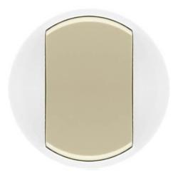 Лицевая панель Legrand Celiane для выключателя или переключателя с кольцевой подсветкой (сл. кость) 067884