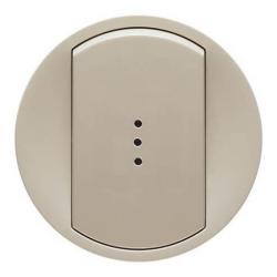 Лицевая панель Legrand Celiane для выключателя и переключателя с подсветкой (сл. кость) 066210