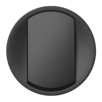 Лицевая панель Legrand Celiane для выключателя и переключателя (графит)