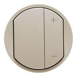 Лицевая панель Legrand Celiane для светорегулятора 400 и 600Вт (сл. кость) 066250
