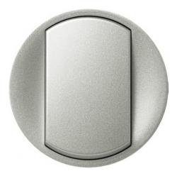Лицевая панель Legrand Celiane для выключателя и переключателя (титан) 068301