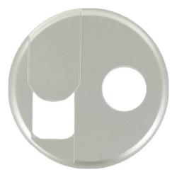 Лицевая панель Legrand Celiane для розетки RJ45 и TV (титан) 068539