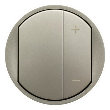 Лицевая панель Legrand Celiane для светорегулятора 400 и 600Вт (титан) 065183