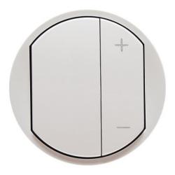 Лицевая панель Legrand Celiane для светорегулятора 400 и 600Вт (белая) 065083