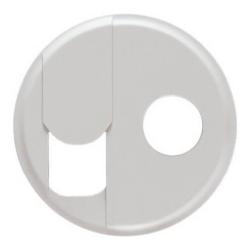Лицевая панель Legrand Celiane для розетки RJ45 и TV (белая) 068239