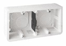 Коробка для наружного монтажа Mosaic на 4 (2х2) модуля 080285
