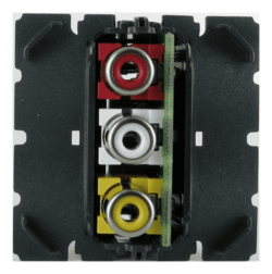 Механизм розетки аудио-видео Legrand Celiane RCA 067313