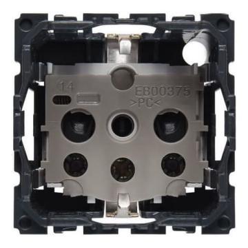 Артикул: 067161, Механизм электрической розетки Legrand Celiane с заземлением на винтовых клеммах