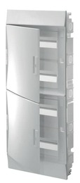 Бокс в нишу ABB Mistral41 на 48 мод. непрозрачная дверца (с шиной) 1SLM004101A1108