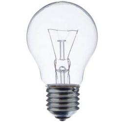 Лампа накаливания  60W E27 прозрачная Osram