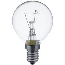 Лампа накаливания шарик 40W E14 прозрачная Osram