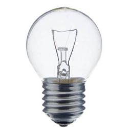 Лампа накаливания шарик 40W E27 прозрачная Osram