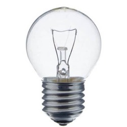 Лампа накаливания шарик 60W E27 прозрачная Osram