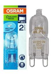 Лампа галогенная Osram G9 60(75)W 220V Halopin ECO