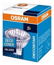 Лампа галогенная Osram GU5,3  20W 12V  DECOSTAR 51S 44860 WFL
