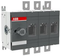 Рубильник ABB OT400E03 до 400А 3-полюсный (без ручки управления) 1SCA022727R7960