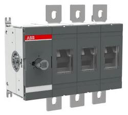 Рубильник ABB OT800E03 до 800А 3-полюсный (без ручки управления и переходника)