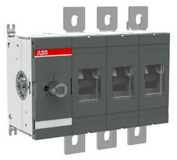 Рубильник ABB OT800E03 до 800А 3-полюсный (без ручки управления и переходника) 1SCA022753R5920