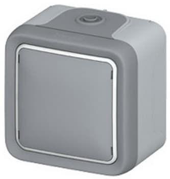 Вывод кабеля Plexo 10A, (цвет серый) 069745