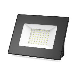 Gauss Прожектор светодиодный LED 50W IP65 черный 613100350