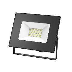 Gauss Прожектор светодиодный LED 70W IP65 черный 613100370