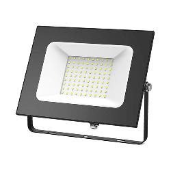 Gauss Прожектор светодиодный LED 100W IP65 черный 613100100
