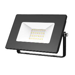 Gauss Прожектор светодиодный LED 30W IP65 черный 613527130