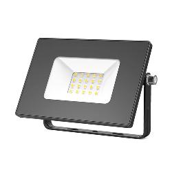 Gauss Прожектор светодиодный LED 20W IP65 черный 613527120