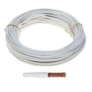 Провод ПВ 3 х4 многожильный (белый)