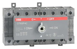 Рубильник реверсивный ABB OT63F4С 63А 4х полюсный без ручки 1SCA105369R1001