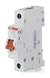 Рубильник АВВ SD201 16A (красный рычаг) 2CDD281101R0016