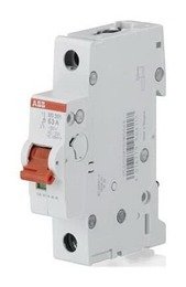 Рубильник АВВ SD201 40A (красный рычаг) 2CDD281101R0040