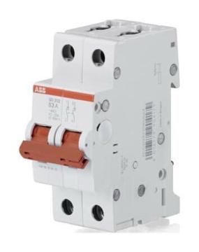 Рубильник ABB SD202 16A (красный рычаг) 2CDD282101R0016