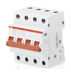 Рубильник ABB SHD204 16A (красный рычаг) 2CDD274111R0016