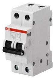 Автоматический выключатель ABB SH202 C63 (хар-ка C) 2CDS242001R0634