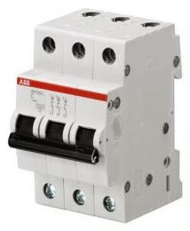 Автоматический выключатель ABB SH203 C50 (хар-ка C) 2CDS243001R0504