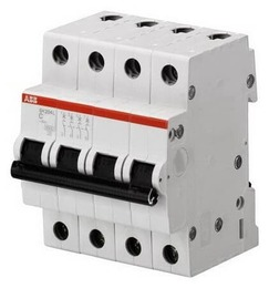 Автоматический выключатель ABB SH204 C63 (хар-ка C) 2CDS244001R0634