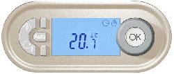 Терморегулятор программируемый Legrand Celiane (сл. кость) 067402+066281+080252