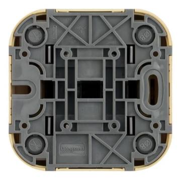 Розетка компьютерная + телефонная RJ45+RG11 Quteo (Сл.Кость) 782251